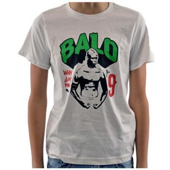 vaatteet Lapset Lyhythihainen t-paita Puma  Valkoinen