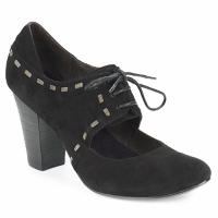 kengät Naiset Korkokengät Sans Interdit ELINE Black