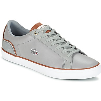 kengät Miehet Matalavartiset tennarit Lacoste LEROND 3 Grey / Brown