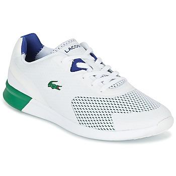 kengät Miehet Matalavartiset tennarit Lacoste LTR.01 White / Green