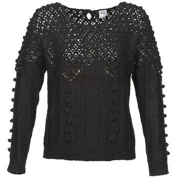 vaatteet Naiset Neulepusero Vero Moda CARRARA Black