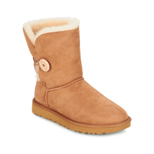 kengät Naiset Bootsit UGG BAILEY BUTTON II Brown
