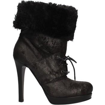 kengät Naiset Nilkkurit Pin Ko AF906 Musta