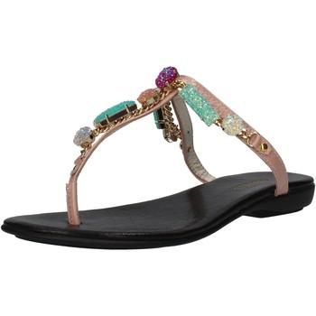 kengät Naiset Sandaalit ja avokkaat Cesare P. By Paciotti AF935 Vaaleanpunainen