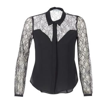 vaatteet Naiset Paitapusero / Kauluspaita Morgan RESTY Black
