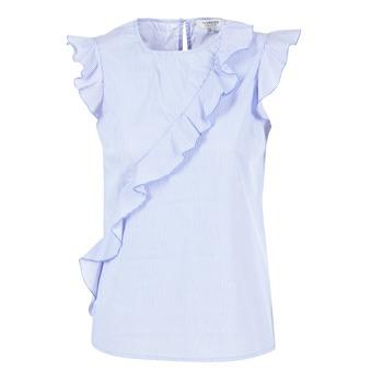 vaatteet Naiset Topit / Puserot Morgan MARFIZ Blue / White