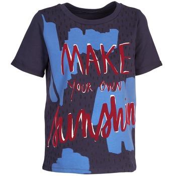 vaatteet Naiset Lyhythihainen t-paita Kookaï EDITH Laivastonsininen