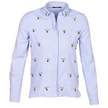vaatteet Naiset Paitapusero / Kauluspaita Kookaï MAYA Blue