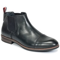 kengät Miehet Bootsit Tommy Hilfiger TOMMY COLTON 11A Black