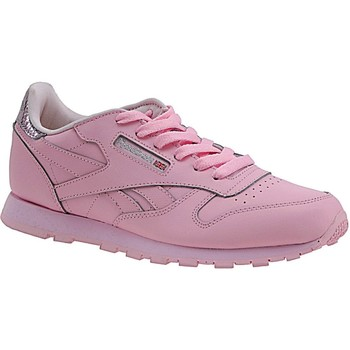 kengät Lapset Tennarit Reebok Sport Classic Leather Metallic BD5898 Pink