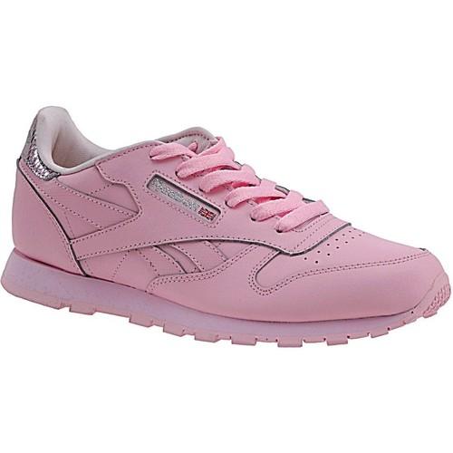 kengät Lapset Tennarit Reebok Sport Classic Leather Metallic BD5898 Pink
