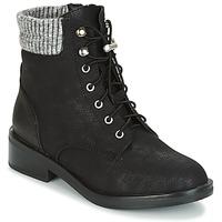 kengät Naiset Bootsit Only ALEXANDRE Black
