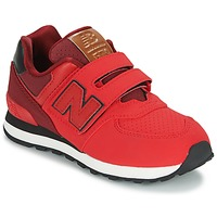 kengät Lapset Matalavartiset tennarit New Balance KV575 Red / Black