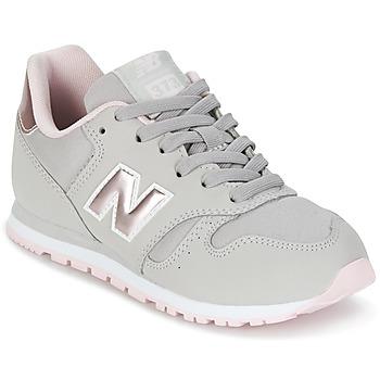 kengät Tytöt Matalavartiset tennarit New Balance KJ374 Grey / Pink