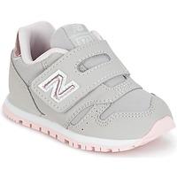 kengät Tytöt Matalavartiset tennarit New Balance KV373 Grey / Pink