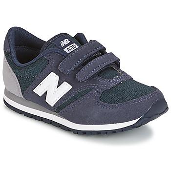 kengät Lapset Matalavartiset tennarit New Balance KE421 Laivastonsininen / Grey