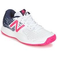kengät Naiset Tenniskengät New Balance WC697 White