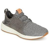 kengät Miehet Juoksukengät / Trail-kengät New Balance CRUZ Grey / White
