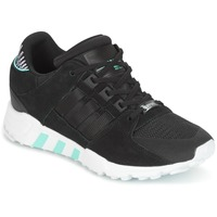 kengät Naiset Matalavartiset tennarit adidas Originals EQT SUPPORT RF W Black
