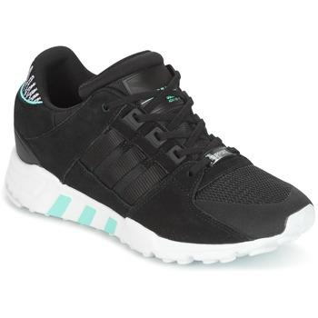 kengät Naiset Matalavartiset tennarit adidas Originals EQT SUPPORT RF W Musta