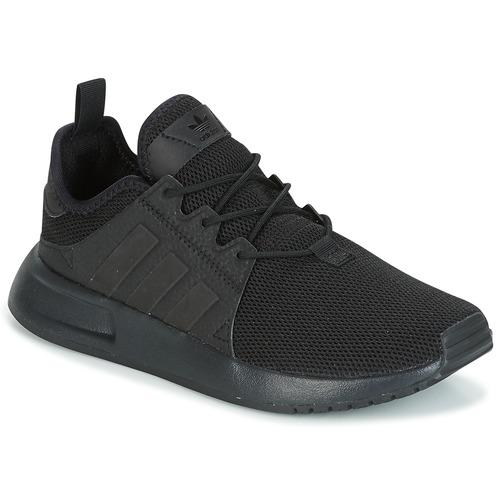 kengät Lapset Matalavartiset tennarit adidas Originals X_PLR Black