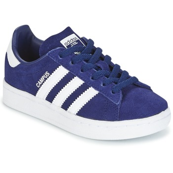 kengät Pojat Matalavartiset tennarit adidas Originals CAMPUS C Laivastonsininen