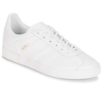 kengät Lapset Matalavartiset tennarit adidas Originals GAZELLE J White