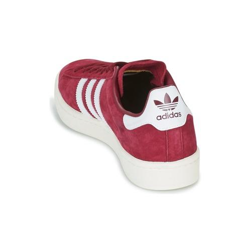 Adidas Originals Campus Bordeaux - Ilmainen Toimitus- Kengät Matalavartiset Tennarit