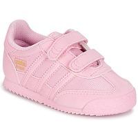 kengät Tytöt Matalavartiset tennarit adidas Originals DRAGON OG CF C Pink