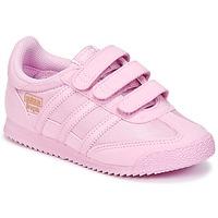 kengät Tytöt Matalavartiset tennarit adidas Originals DRAGON OG CF I Pink