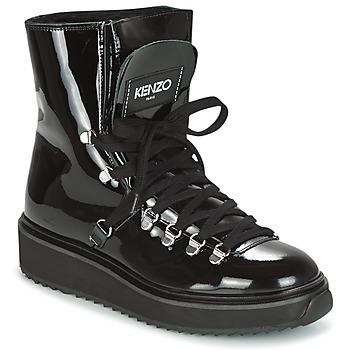 kengät Naiset Talvisaappaat Kenzo ALASKA Musta