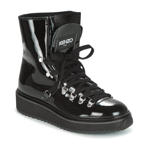 kengät Naiset Talvisaappaat Kenzo ALASKA Black