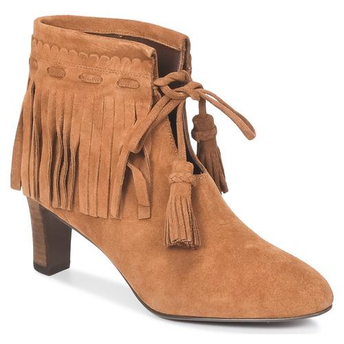kengät Naiset Nilkkurit See by Chloé FLARIL Cognac