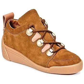 kengät Naiset Matalavartiset tennarit See by Chloé FLAVI Brown