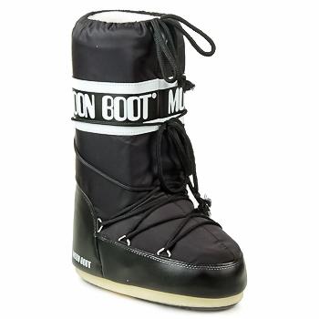 kengät Naiset Talvisaappaat Moon Boot MOON BOOT NYLON Black
