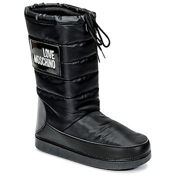 kengät Naiset Talvisaappaat Love Moschino JA24212G04 Black