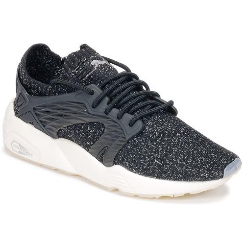 kengät Juoksukengät / Trail-kengät Puma BLAZE CAGE EVOKNIT Black / White