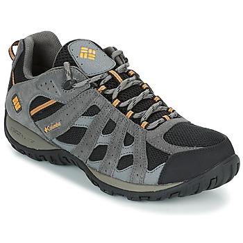 kengät Miehet Vaelluskengät Columbia REDMOND WATERPROOF Black