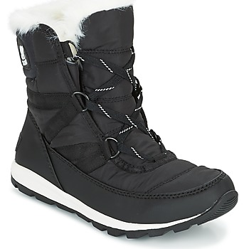 kengät Naiset Talvisaappaat Sorel WHITNEY SHORT LACE Black