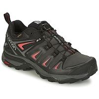 kengät Naiset Vaelluskengät Salomon X ULTRA 3 GTX® Black / Red