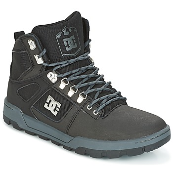 kengät Miehet Korkeavartiset tennarit DC Shoes SPARTAN HIGH WR Black / Grey