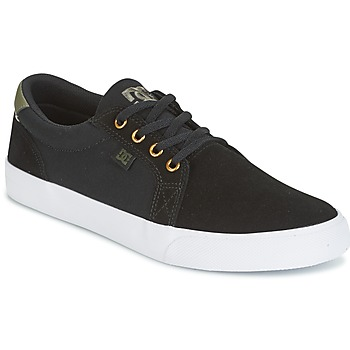 kengät Miehet Matalavartiset tennarit DC Shoes COUNCIL SD Black / Kaki