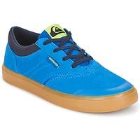 kengät Lapset Korkeavartiset tennarit Quiksilver BURC YOUTH B SHOE XBCB Blue / Brown