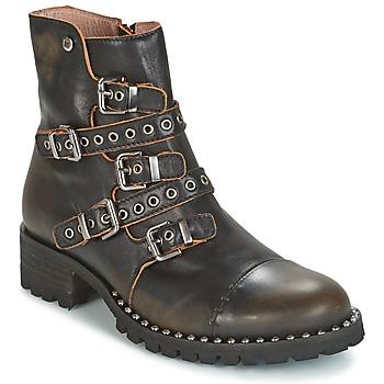 kengät Naiset Bootsit Dkode UMBRIA-BLACK-001 Black