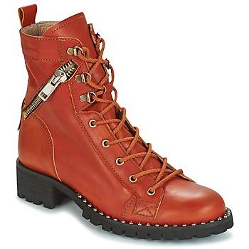 kengät Naiset Bootsit Dkode UDELE-OCRE-008 orange