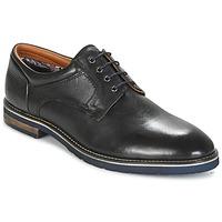 kengät Miehet Derby-kengät Salamander VASCO-AW Black