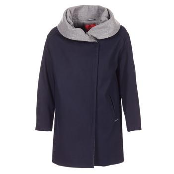 vaatteet Naiset Paksu takki S.Oliver DEMIZA Laivastonsininen / Grey