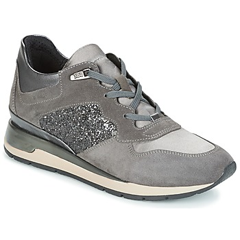 kengät Naiset Matalavartiset tennarit Geox D SHAHIRA Grey