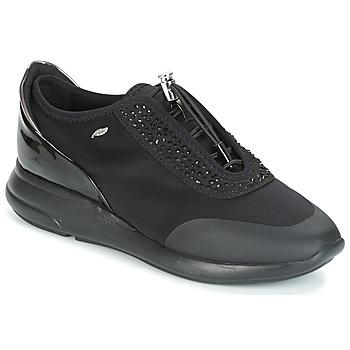 kengät Naiset Matalavartiset tennarit Geox D OPHIRA Black