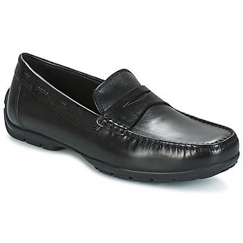 kengät Miehet Mokkasiinit Geox U MONET W 2FIT Black